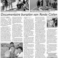 """In het Antilliaans dagblad verscheen een paginagroot artikel over de documentaire 'Bon Bini Amsterdam""""."""